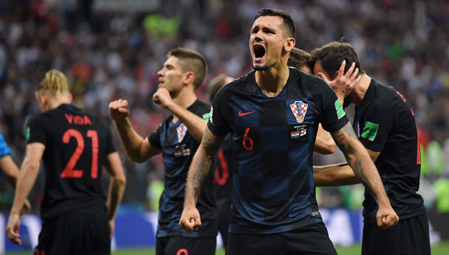 England were beaten by Croatia in the World Cup semi-finals.