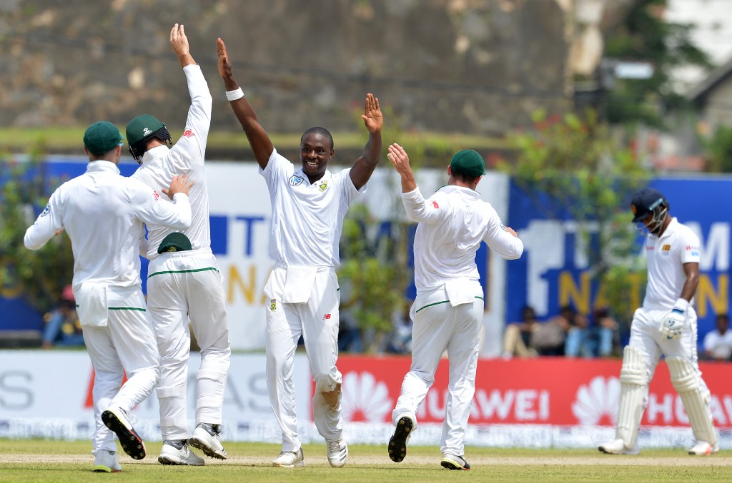 Pacer Kagiso Rabada picked up four wickets for South Africa.