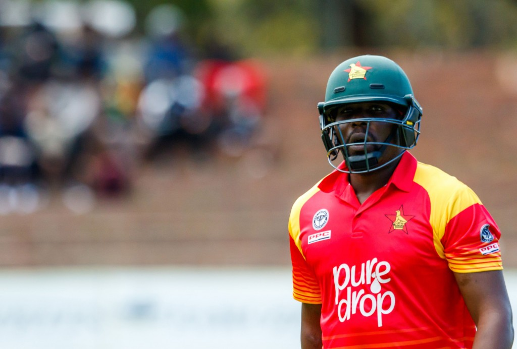 Masakadza led from the front for the hosts.