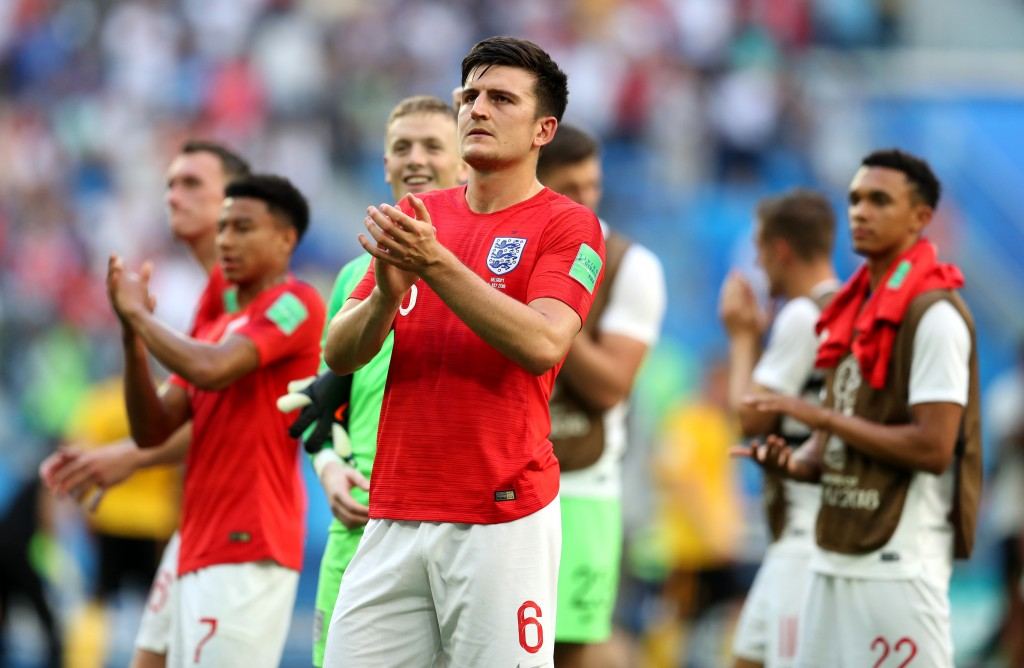Maguire impressed for England in the World Cup.