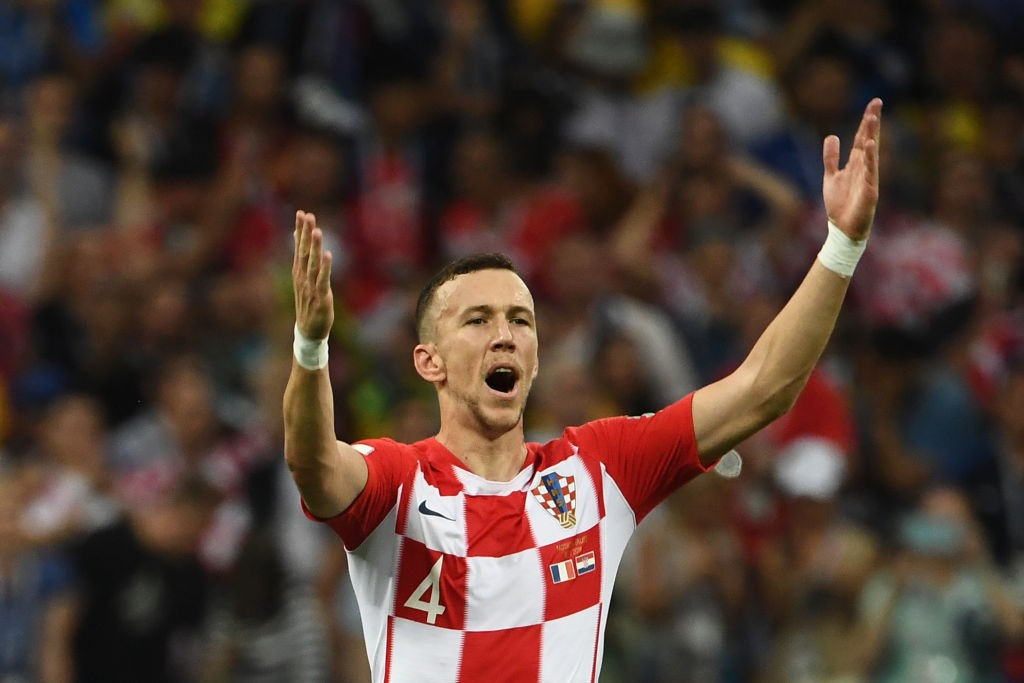 Ivan Perisic conceded the penalty.