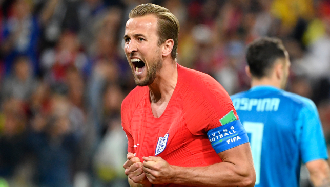 Harry Kane has scored six goals at the World Cup.