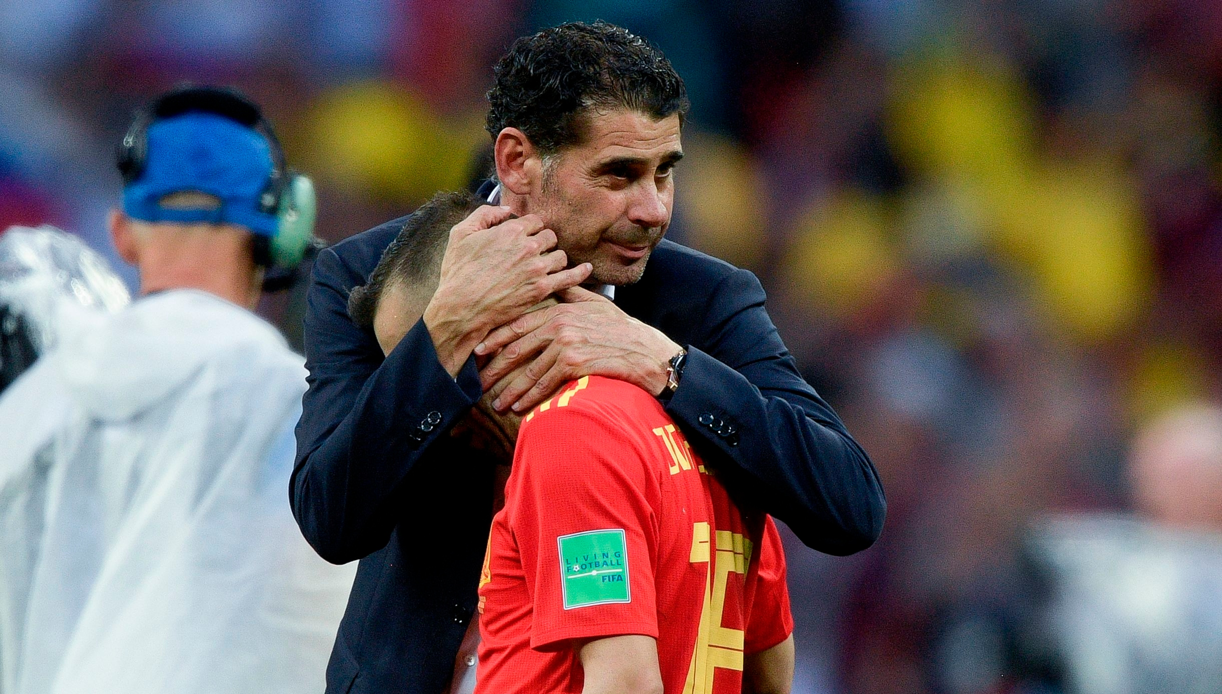 ce7736424ce Fernando Hierro to leave the Spanish football federation following stint as  stand-in Spain boss