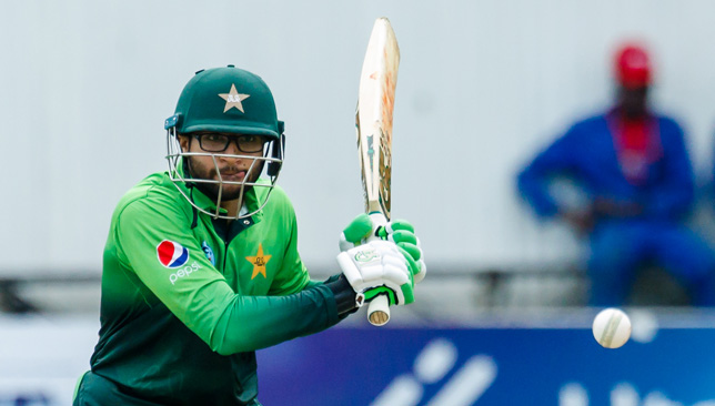 Pakistan batsman Imam Ul Haq reached a century