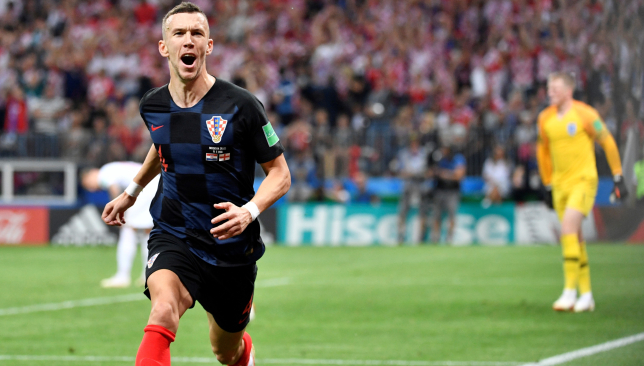 Ivan Perisic makes England pay.