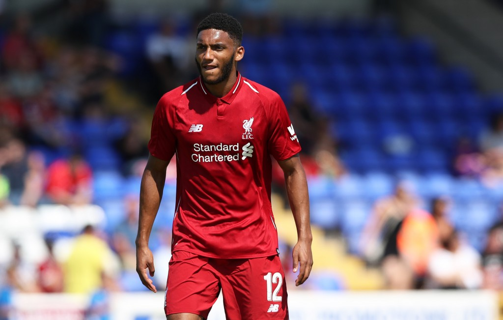 Joe Gomez is looking to make the most of his opportunities