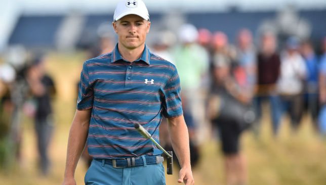 Jordan Spieth has not been in the best of form
