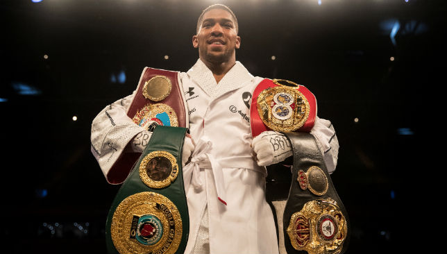 Anthony Joshua has dominated the heavyweight division, but Hughie Fury insists he belongs in the same bracket.