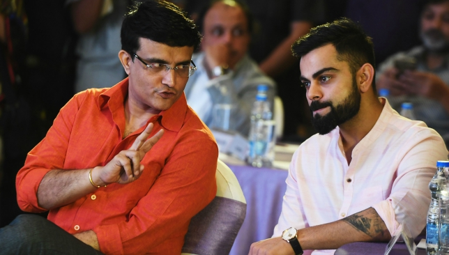 Ganguly feels Kohli at number four makes India stronger.