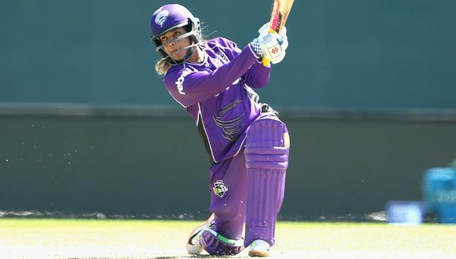 Veda Krishnamurthy played for Hobart Hurricanes in Australia