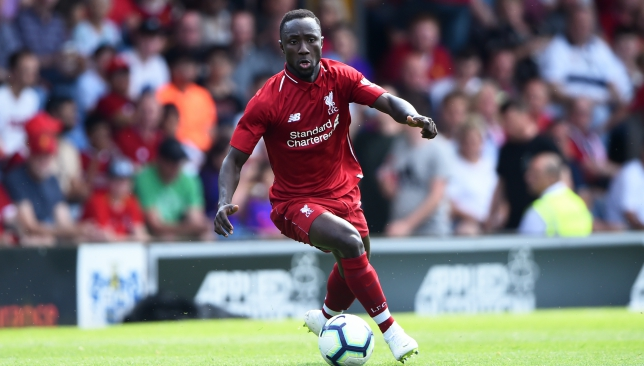 Keita is confident about Liverpool's title challenge this season..