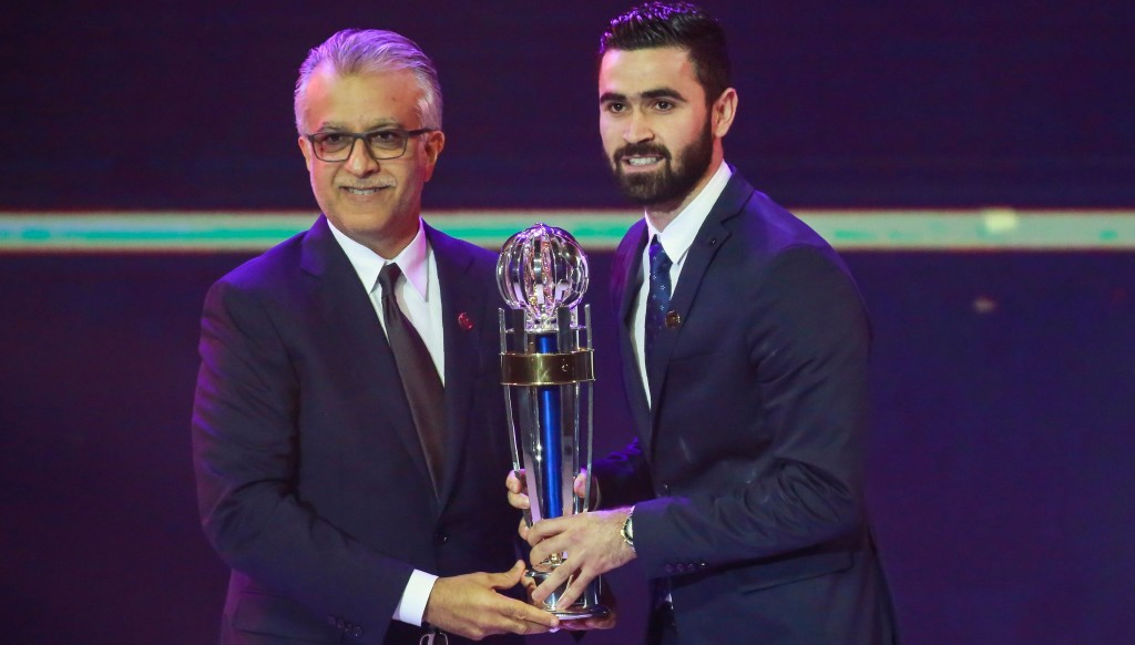 Al Hilal forward Omar Khrbin is the reigning Asian Player of the Year.
