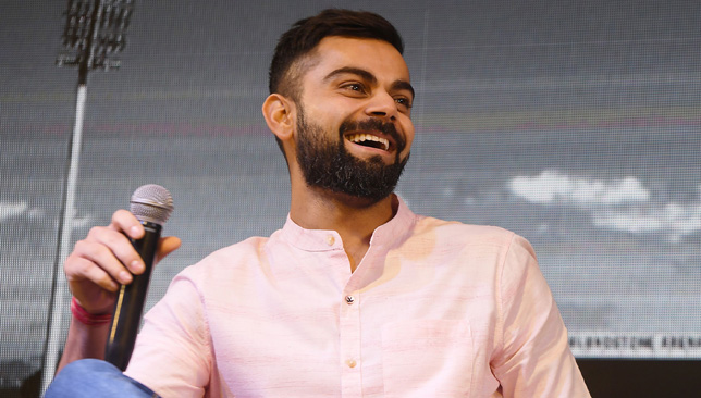Kohli is ranked ahead of NBA's Stephen Curry in the list.