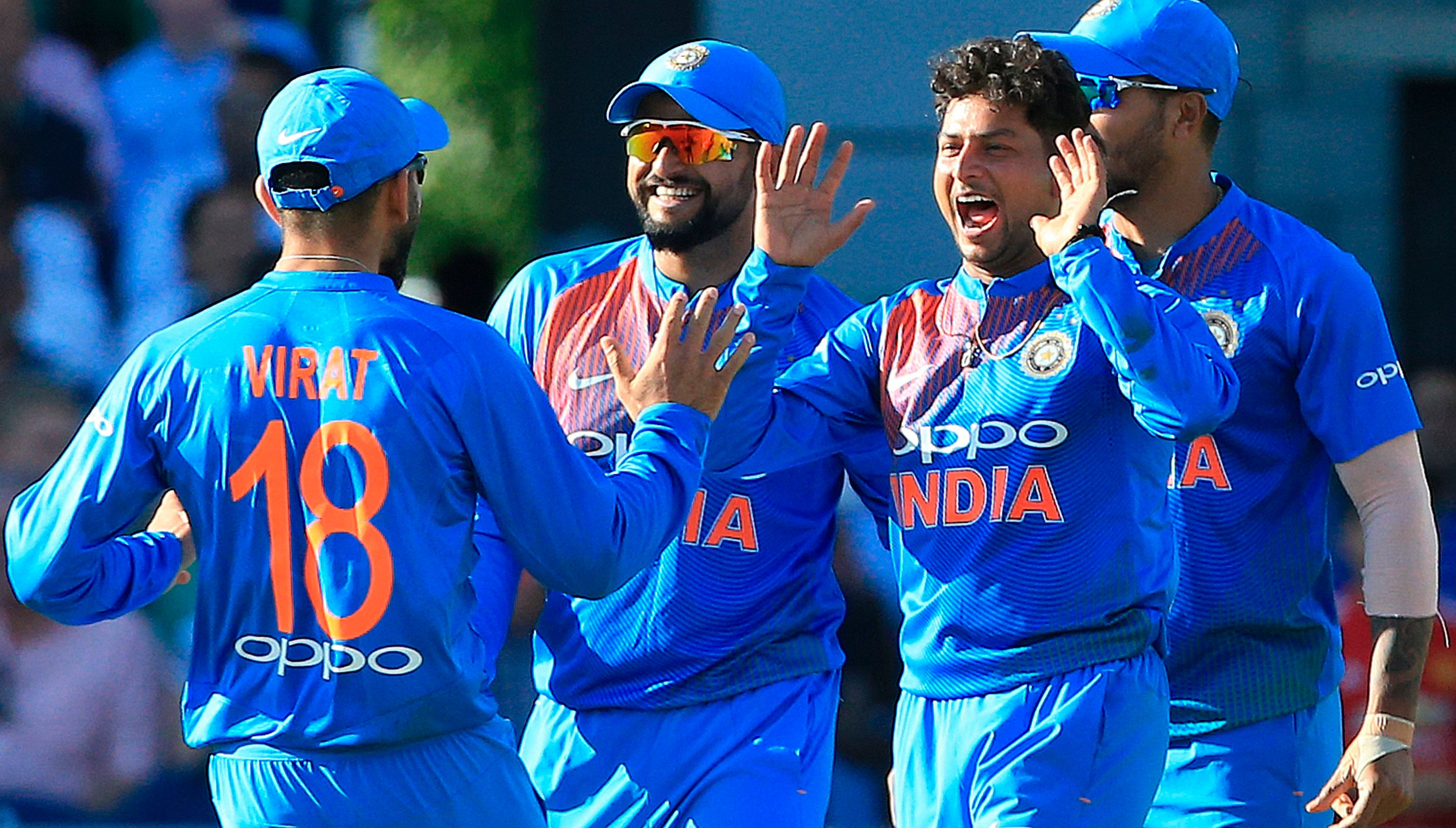 Kuldeep Yadav picked up 21 wickets in just 9 T20Is in 2018 (photo - getty)