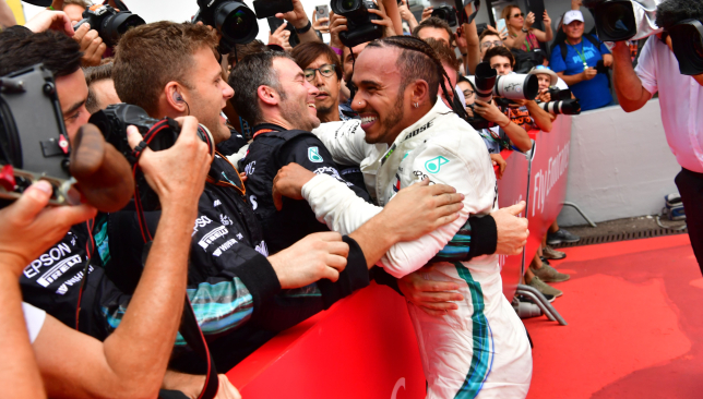 Hamilton wins German GP as rival Vettel crashes late on