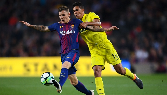 Wanted man: Lucas Digne