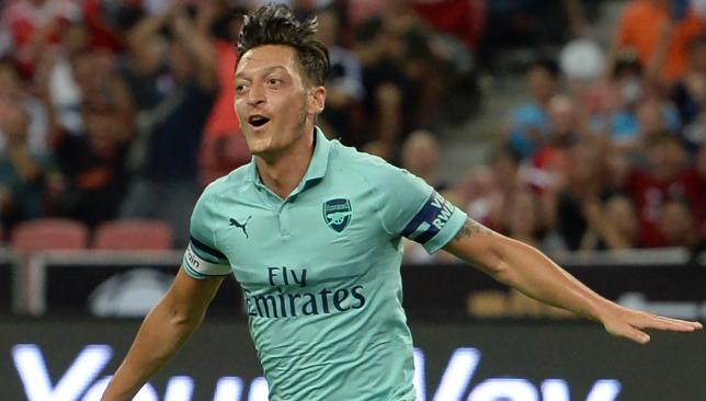 Mesut Ozil can focus solely on club football