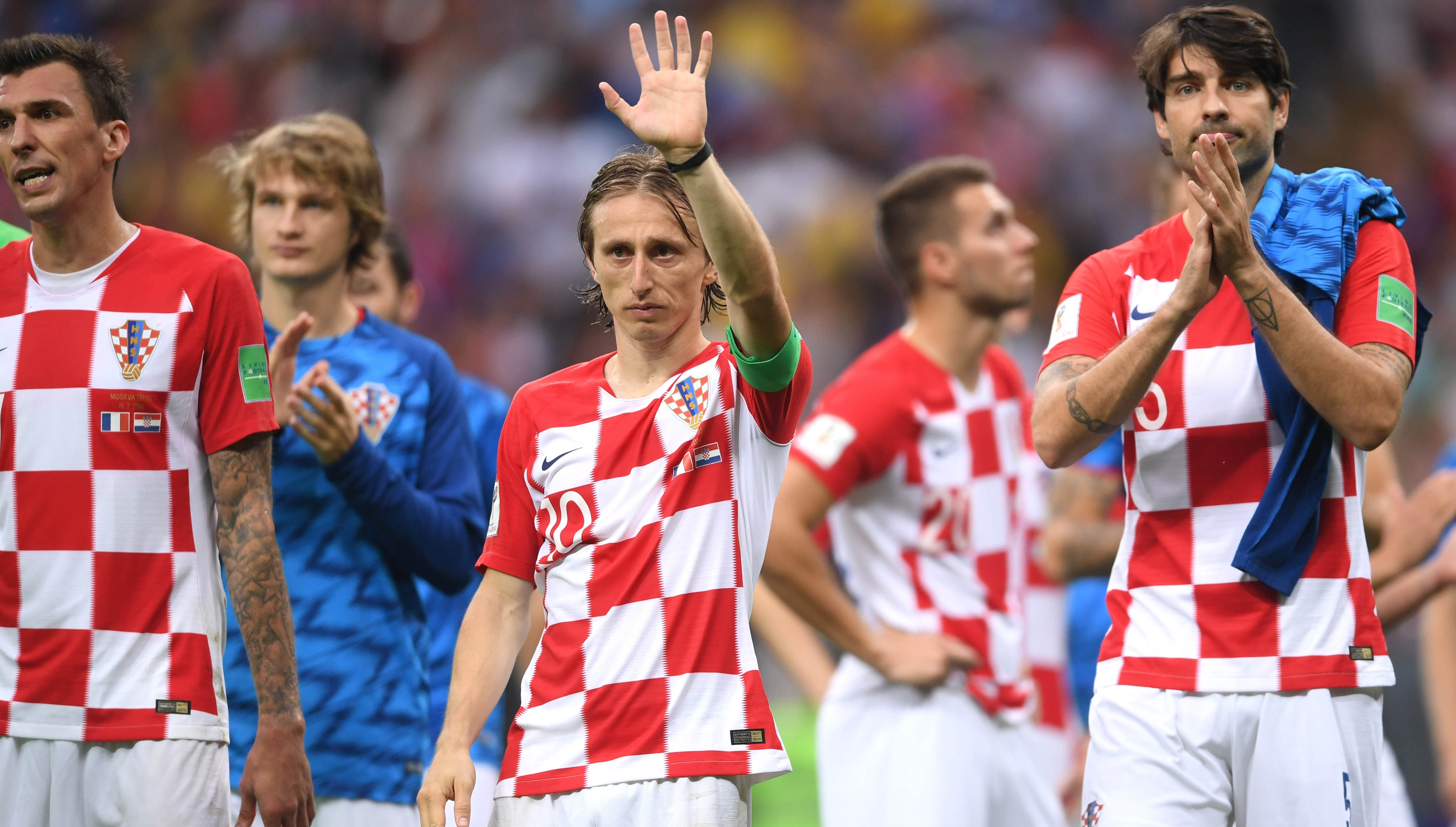 2cadec42f Luka Modric unable to muster much magic as he wins Golden Ball but fails to  shine in World Cup final