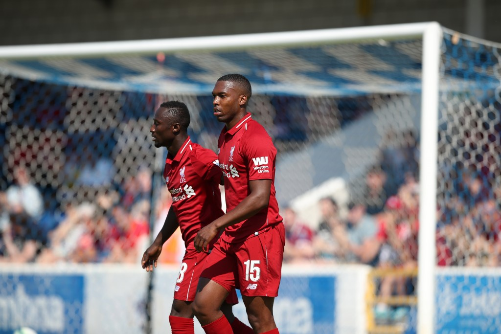 Naby Keita (l) and Daniel Sturridge are already developing a great understanding