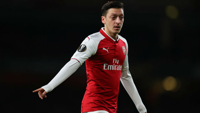 Ozil of Arsenal