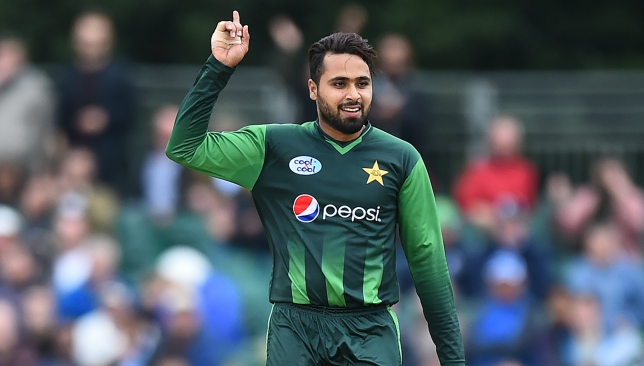 Faheem Ashraf has been among the wickets once again.
