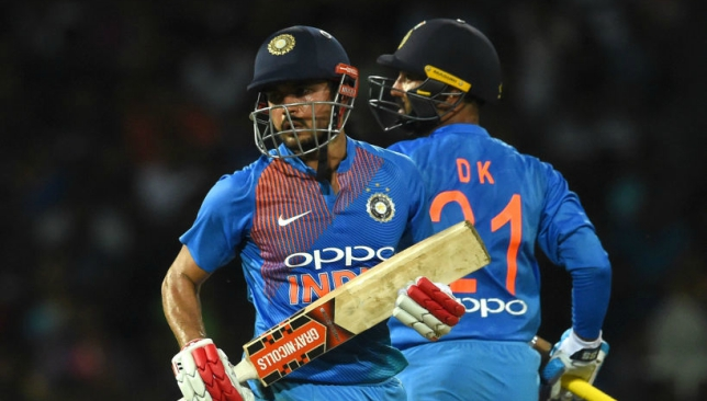 Pandey is competing against Karthik for the middle-order slot.