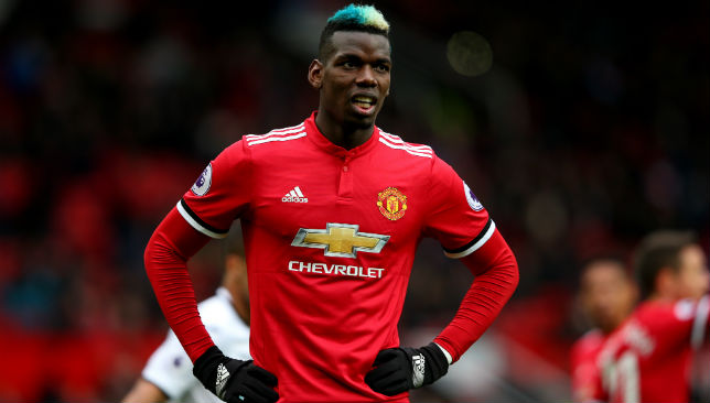 Paul Pogba of Manchester United2