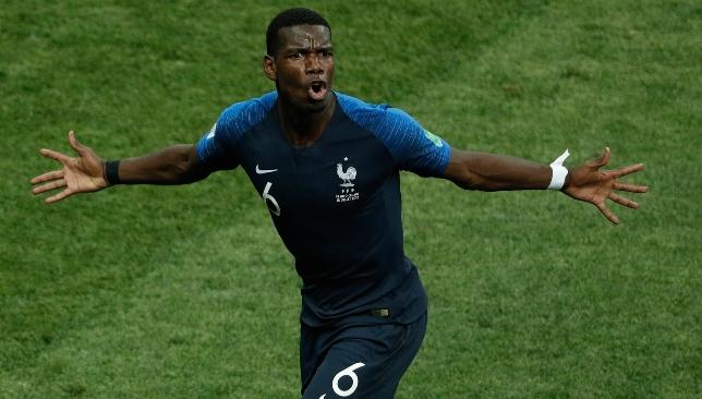 Scored in World Cup final: Paul Pogba.