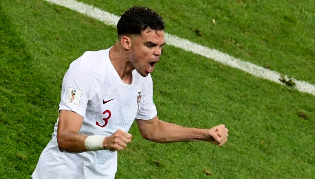 Experienced defender: Pepe is 35.
