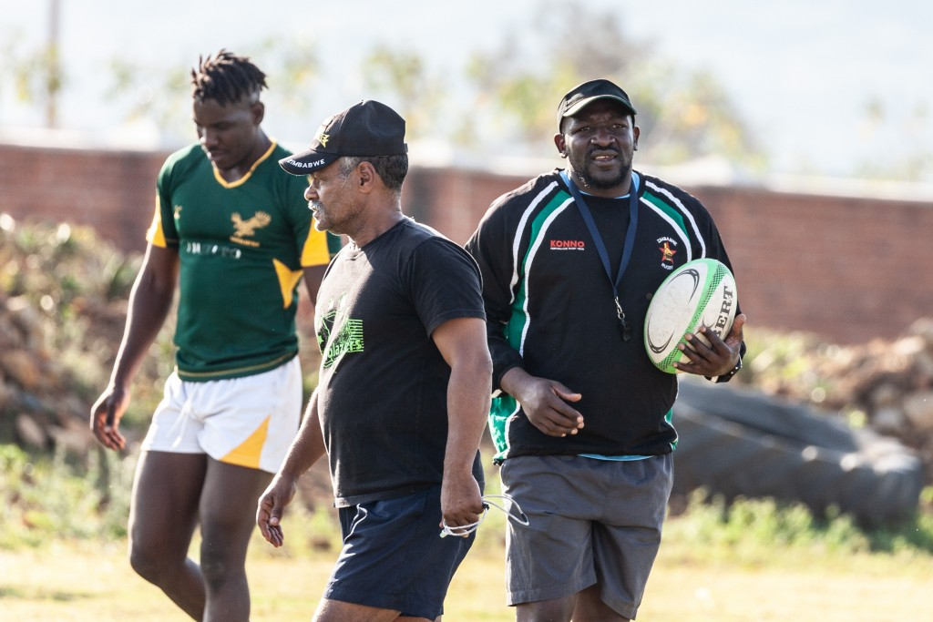 Peter de Villiers has been working with former Sables & Harare Sports Club Head Coach, Daniel Hondo.