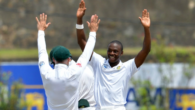 Rabada broke Harbhajan Singh's record in the first Test against Sri Lanka.