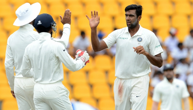 Ashwin bowled only five overs on the final day of the warm-up game.