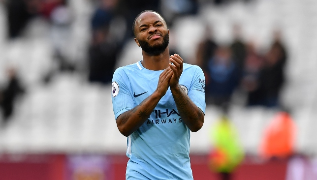 Raheem Sterling moved to City in July 2015 from Liverpool.