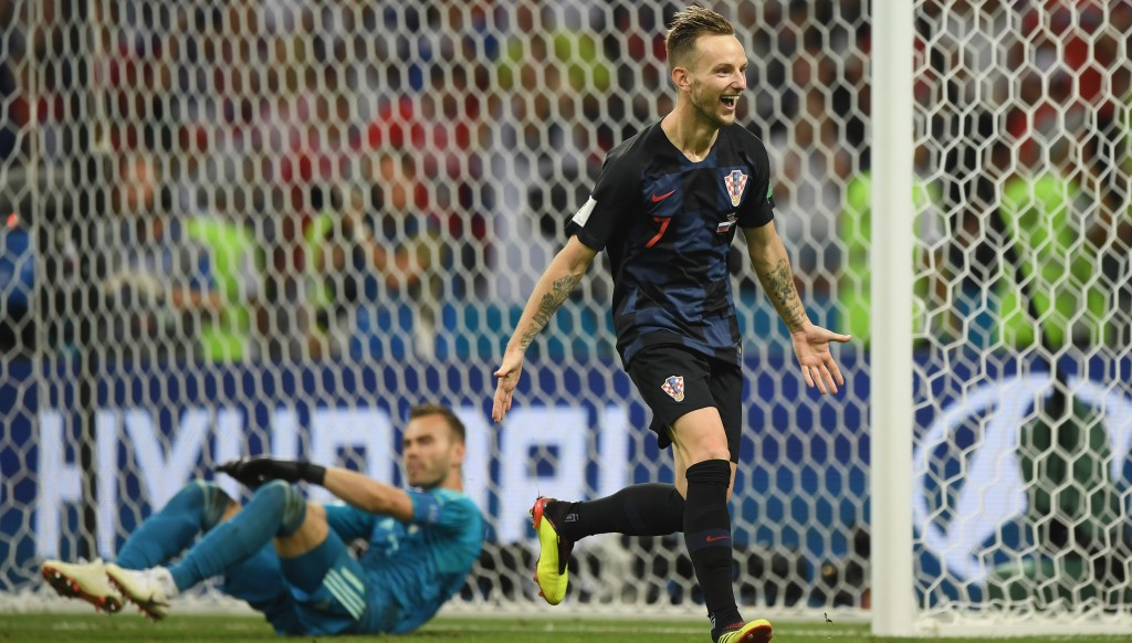 Rakitic scored the winning penalty for the second shootout in a row.
