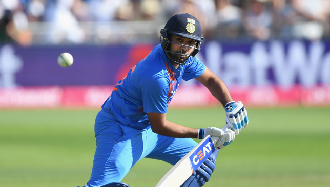 Rohit had slammed his third T20I ton on Sunday.