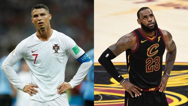 ce76c3eb7 Cristiano Ronaldo and LeBron James  serendipitous moves have common ground