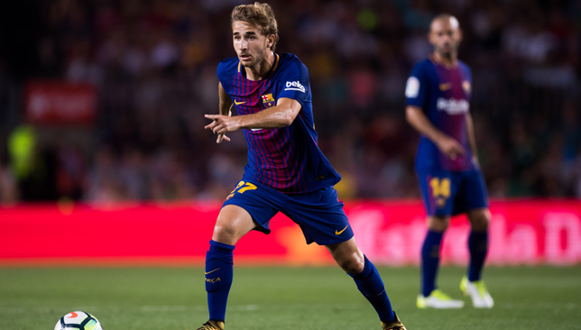 Staying at home: Sergi Samper