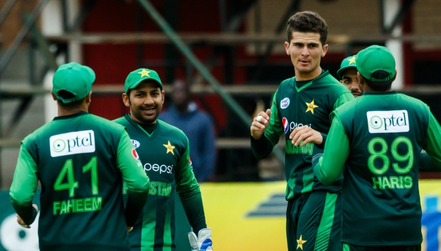 The Pakistan starlet picked up three wickets on Thursday.