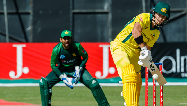 Coming up Short: D'Arcy scored 76 for Australia
