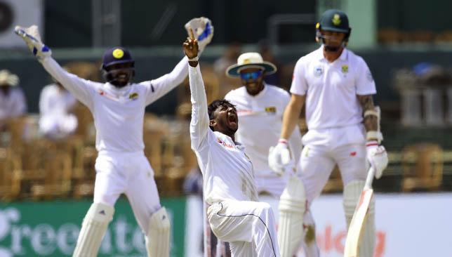 Akila Dananjaya took two wickets on Sunday