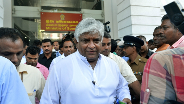 Elections for SLC had been suspended by Sri Lanka's Court of Appeal.