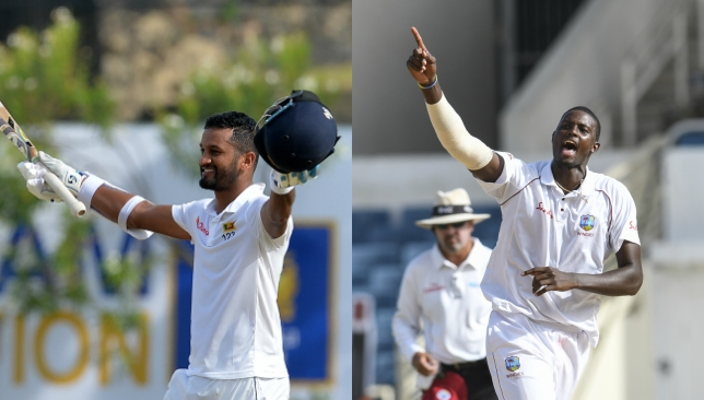 Karunaratne and Holder have climbed up the table in the ICC rankings.