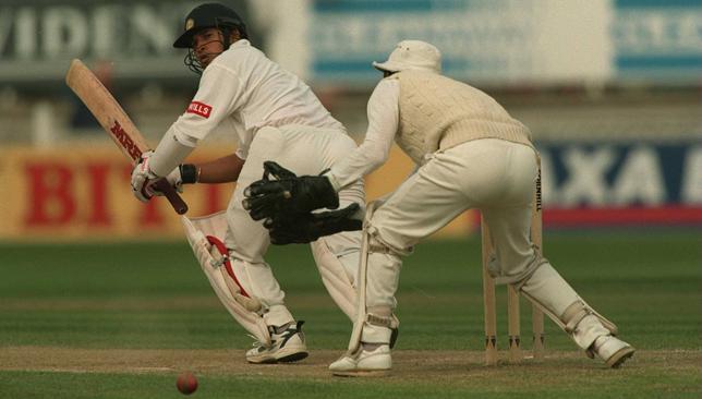 Sachin Tendulkar scored a century against England