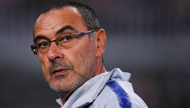 Sarri, coach of Chelsea