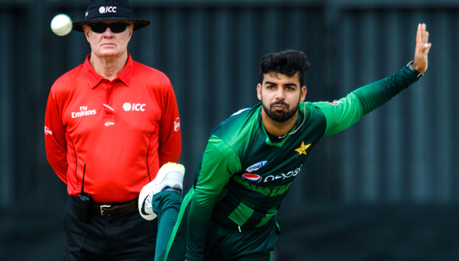 Shadab Khan will be hoping to take wickets in the third ODI