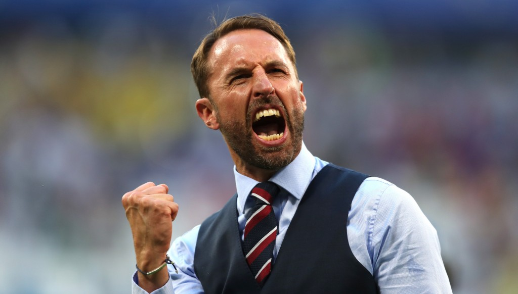 Gareth Southgate led England to the semi-finals of the World Cup.