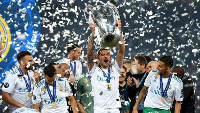 Hernandez was part of the club's Champions League winning side last term.