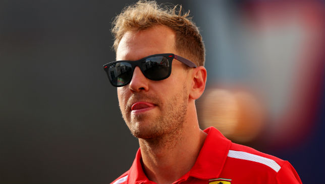 Vettel of Germany