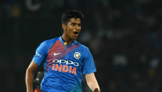 Sundar suffered an ankle injury during the Ireland T20 series.
