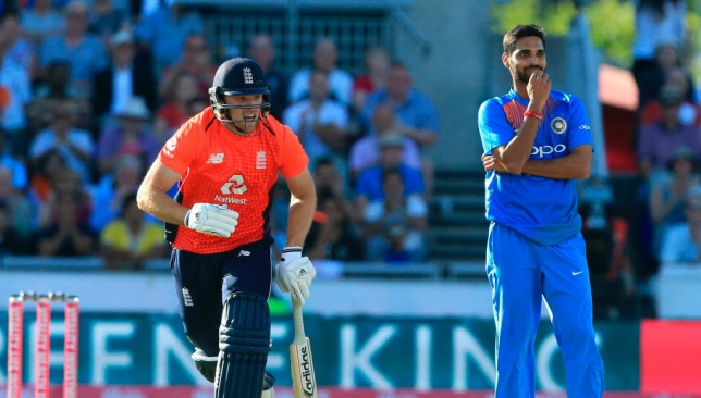 Willey was not pleased with Bhuvneshwar aborting his run-up.